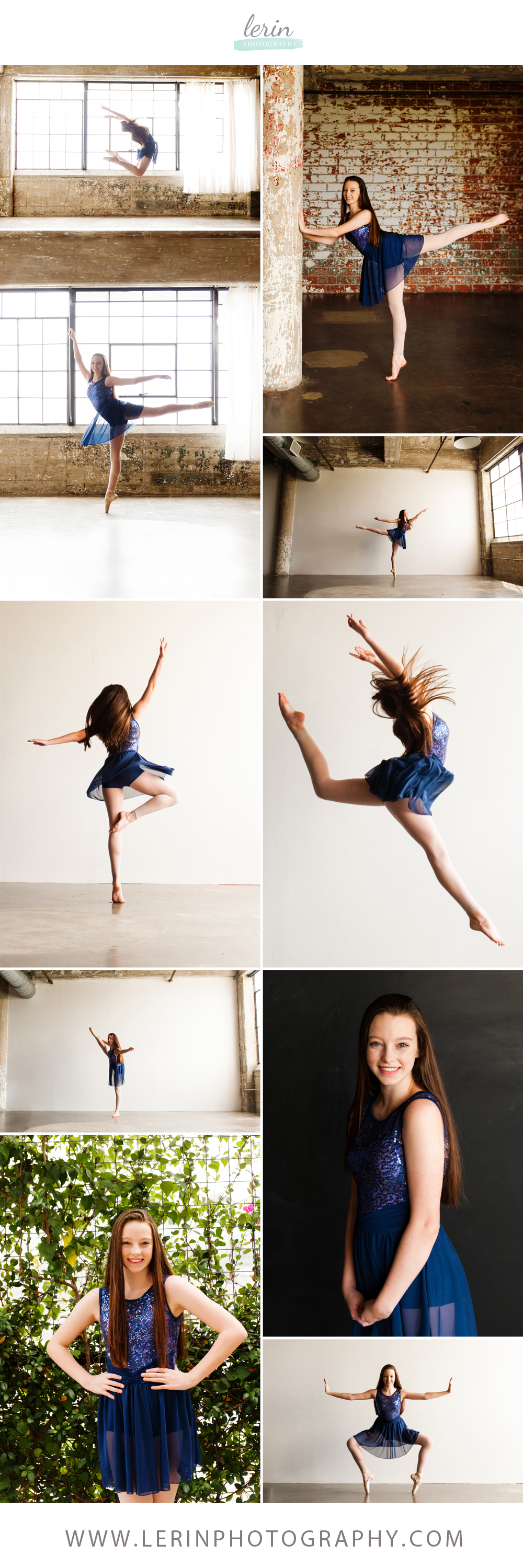 Houston Studio Dance Portraits